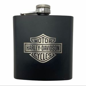 Harley-Davidson Stainless Steel Custom Flask